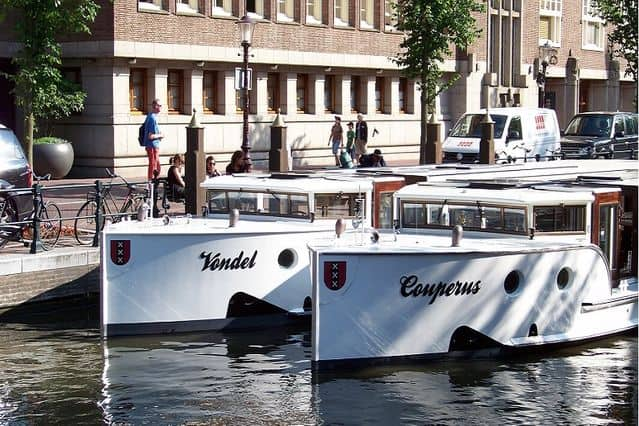City Tender Vondel canal boat