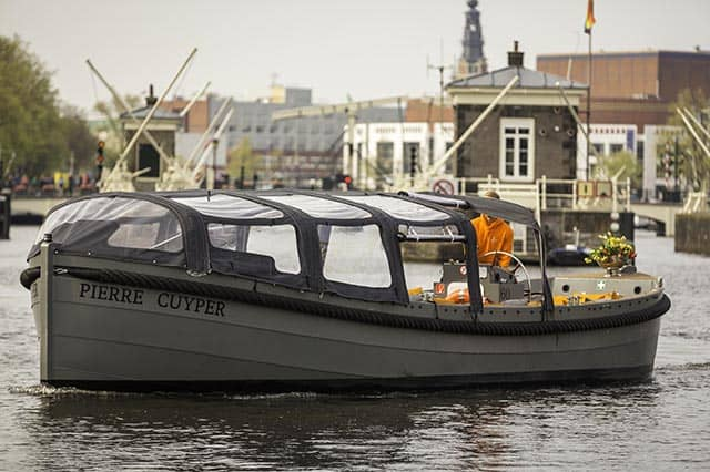 Dinghy Pierre Cuyper in Amsterdam canals